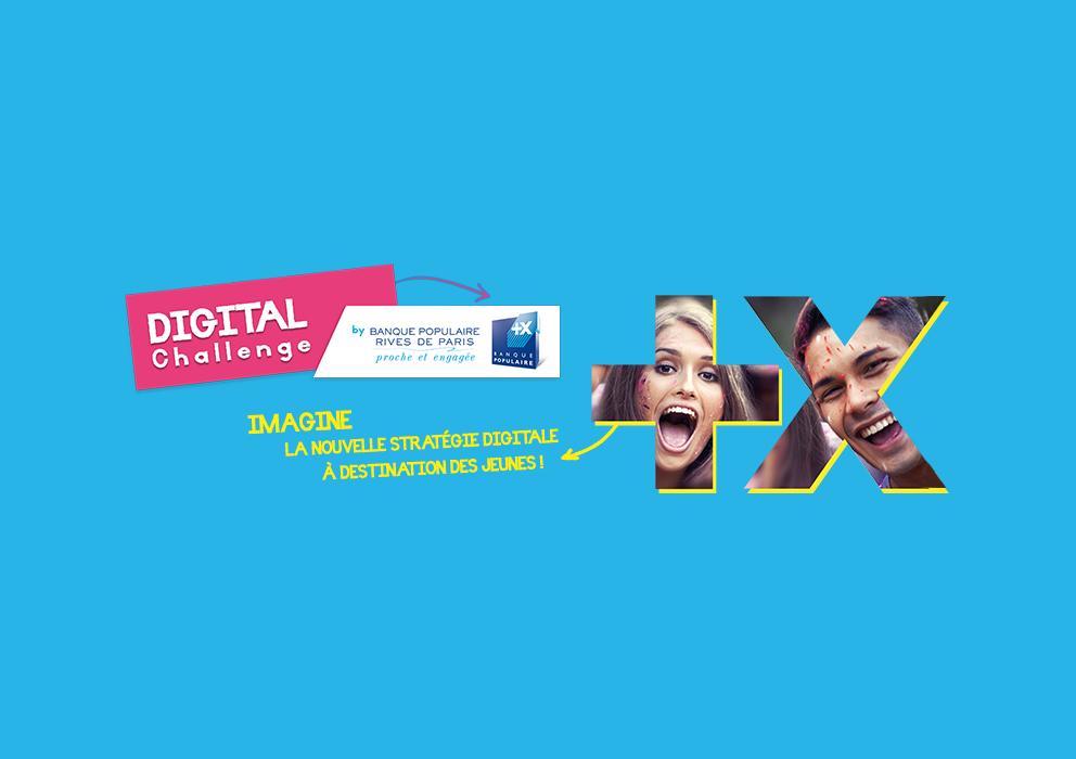 Agorize Digital Challenge By Banque Populaire Rives De Paris