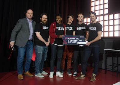Photo de l'équipe Osedea, coup de coeur 2018